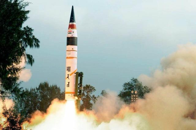 Indien testet atomwaffenfähige Interkontinentalrakete