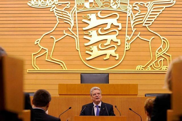 Gauck will Protestszene in Politik einbinden