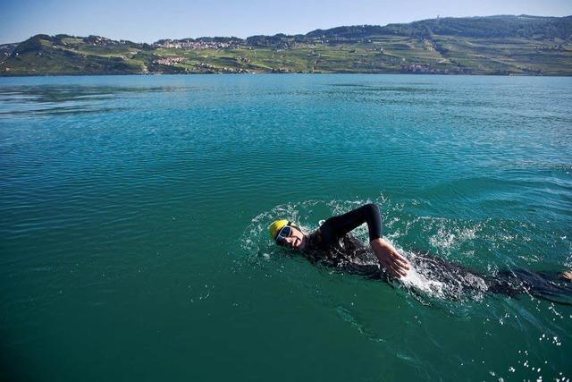Schweizer Extremsportler will im Rhein bis zur Nordsee schwimmen