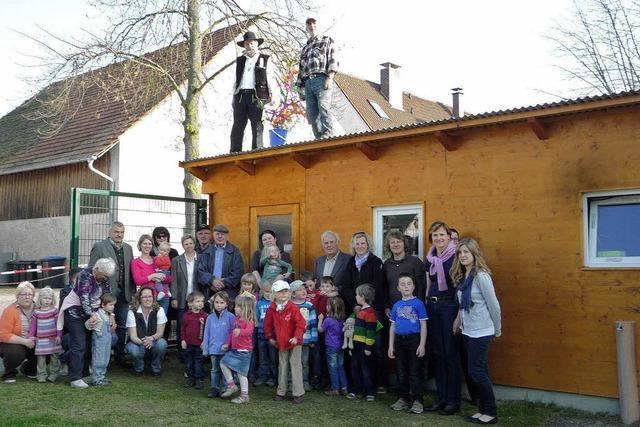 Großes Fest für kleines Haus