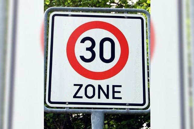 Landratsamt weist Tempo 30 in Kürnberg an
