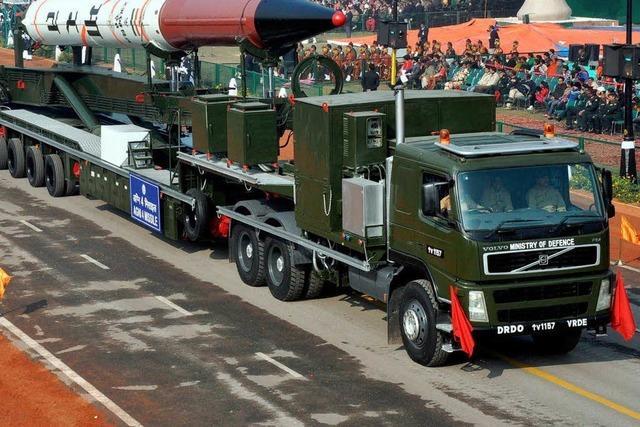 China reagiert verschnupft auf Indiens Raketentest