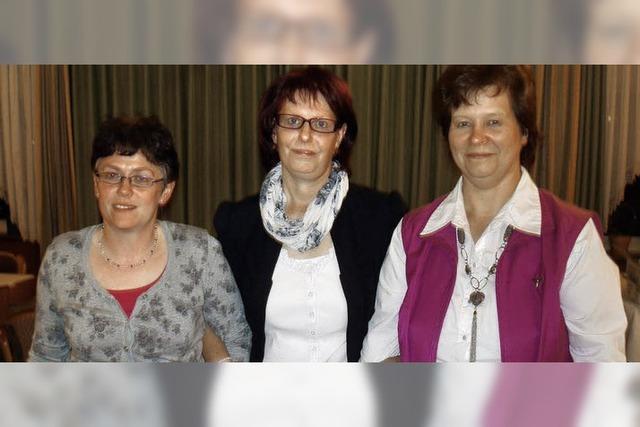 Neues Dreierteam bei den Landfrauen