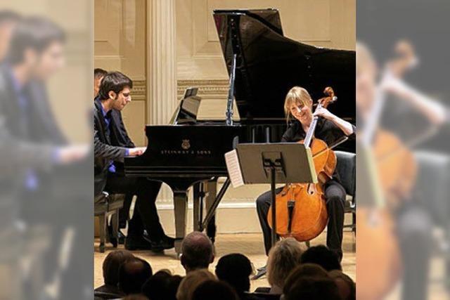 Isabel Gehweiler: Weiler Cellistin spielt in der Carnegie Hall in New York