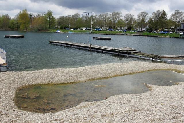 Flachwasserzone statt Kinderbecken