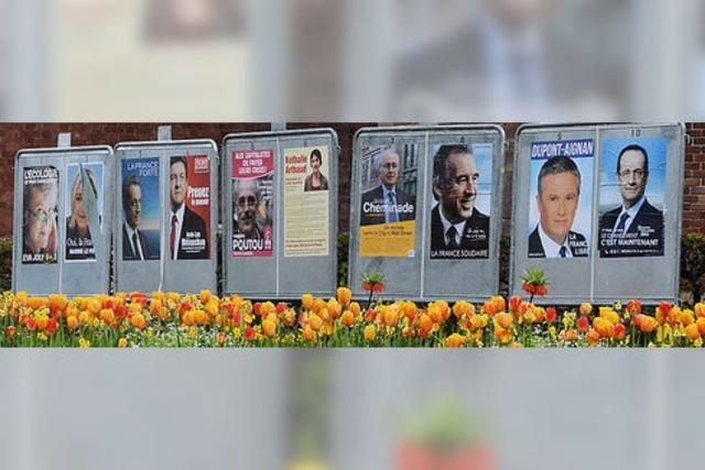 Kaum Wahlkampfstimmung im Elsass