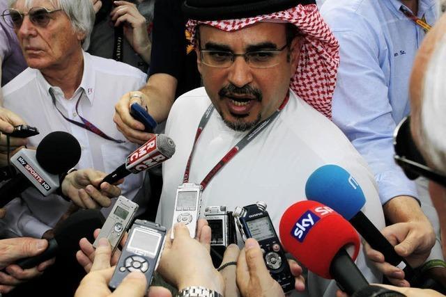 Formel-1-Rennen in Bahrain: Keine Spur von Normalität