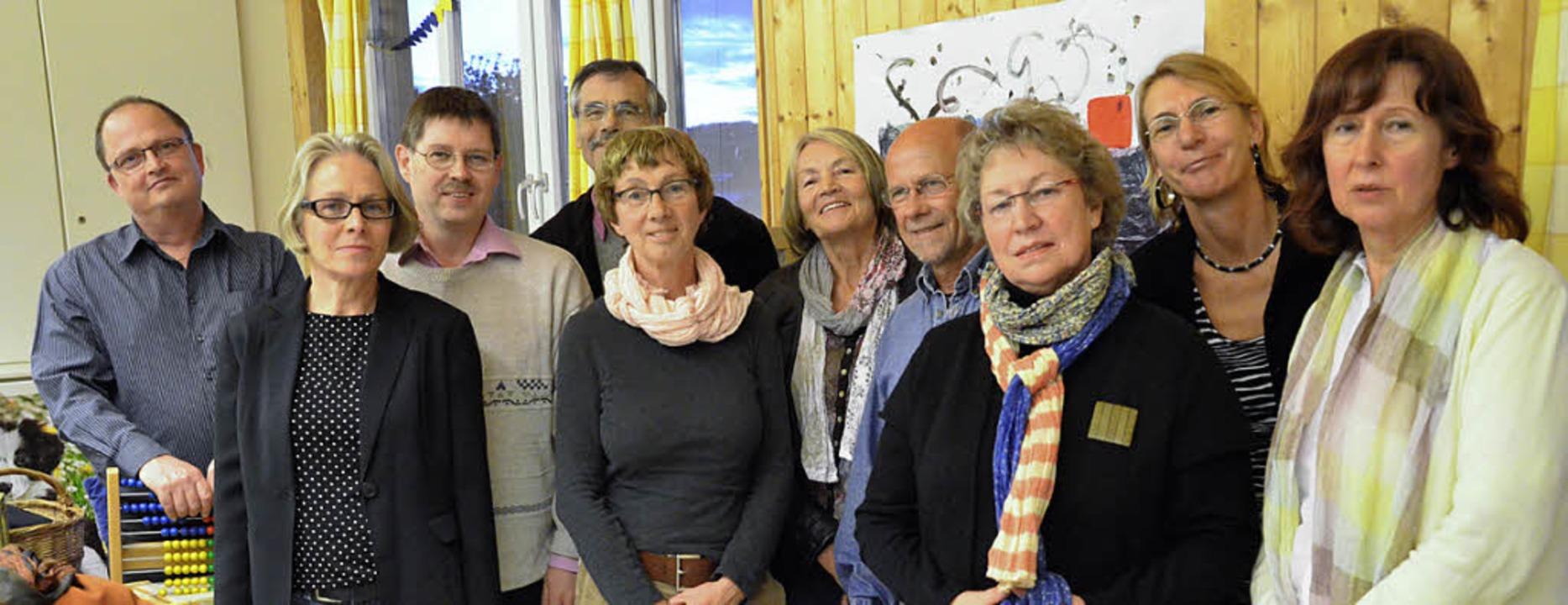 Der Vorstand und die Kuratoren des VBK   | Foto: Barbara Ruda
