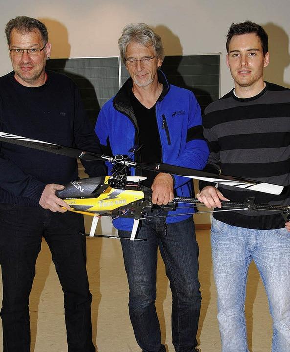 Im  Vorstand der Modellflugfreunde Har...nd Christian Hienle (Vorsitzender).     | Foto: Hans-Walter Mark