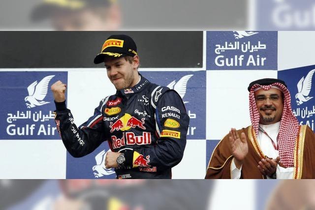 Vettel fährt wieder vorne mit