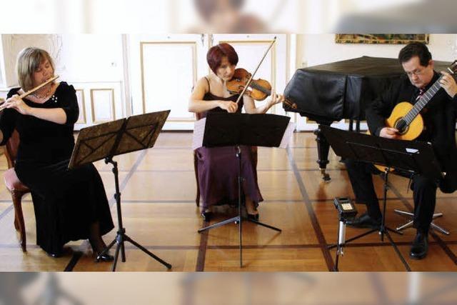 Trio Cordato eröffnete die musikalische Saison im Elztalmuseum