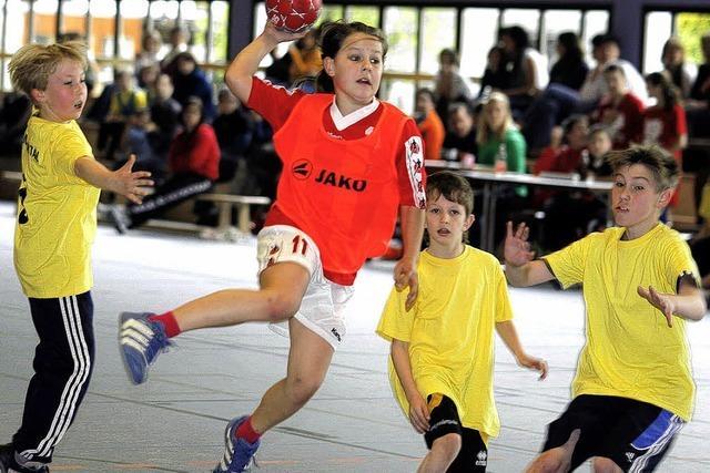 Schüler bleiben am Ball