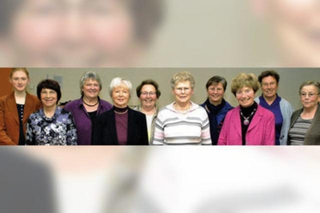 Frauenchor mit stolzen Zuwachszahlen