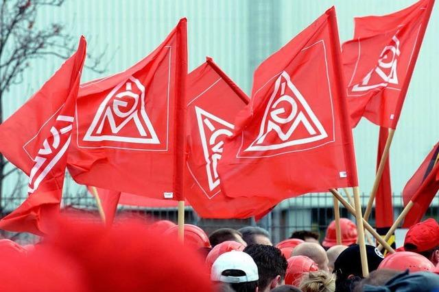 Metaller kündigen massive Warnstreiks in Südbaden an
