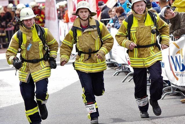 Feuerwehr zeigt Kondition