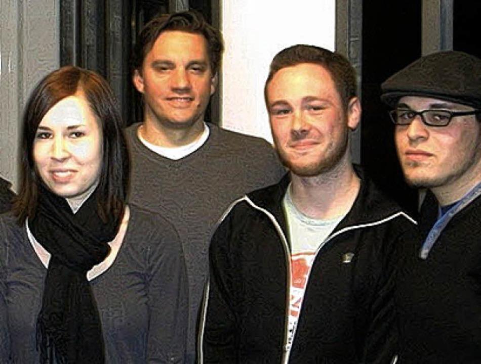 Politisch engagiert (von links): Luisa...chner,  Fabian Rink und Raphael Pfaff   | Foto: PR