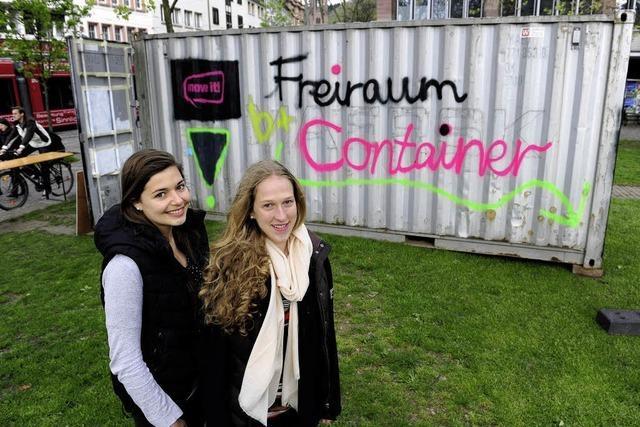 Ein Container dient als