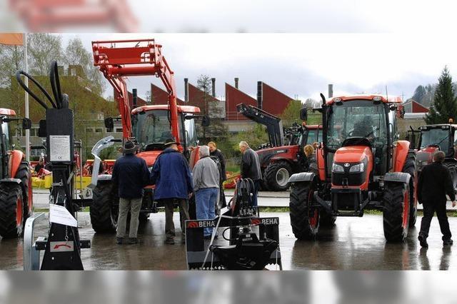 Tropfende Traktoren
