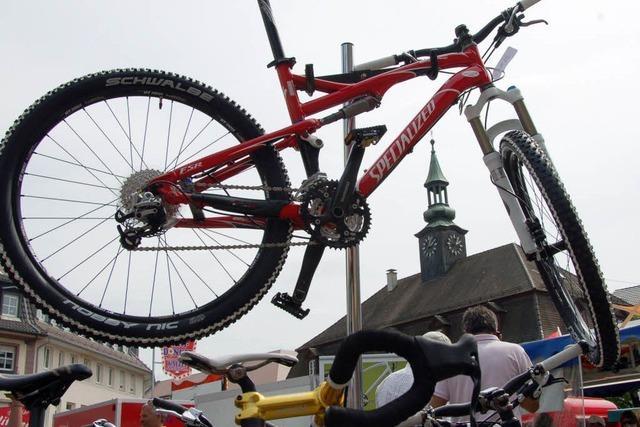 Fahrräder sind eben doch das Höchste