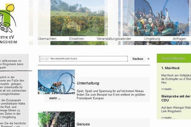 Neue Homepage mit mehr Informationen