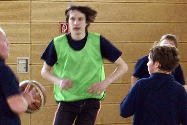 Basketball statt Feuerwehrschlauch
