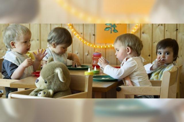 Kaum Raum für viele Kinder