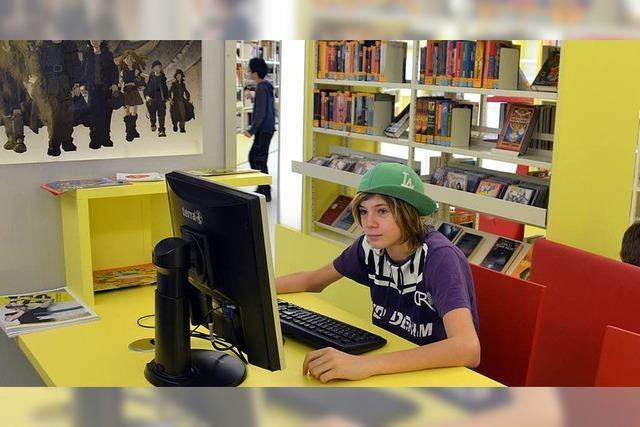 Jugendliche greifen meist zum Buch