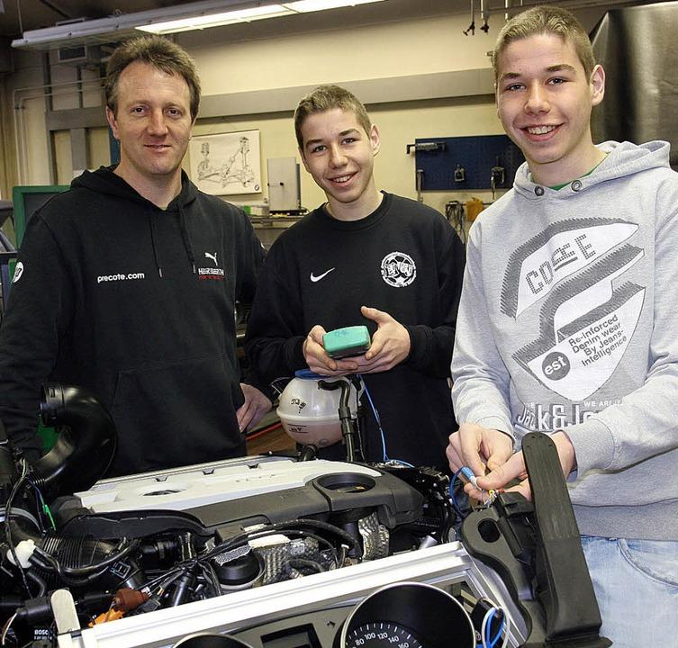 In der Breisacher Gewerbeschule gibt e...lleg für den Bereich  Fahrzeugtechnik.  | Foto: markus dold