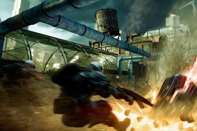 Umstritten: Ego-Shooter Crysis 2 erhält Computerspielpreis