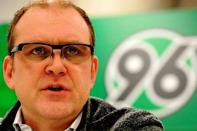 Manager Jörg Schmadtke verlässt Hannover 96
