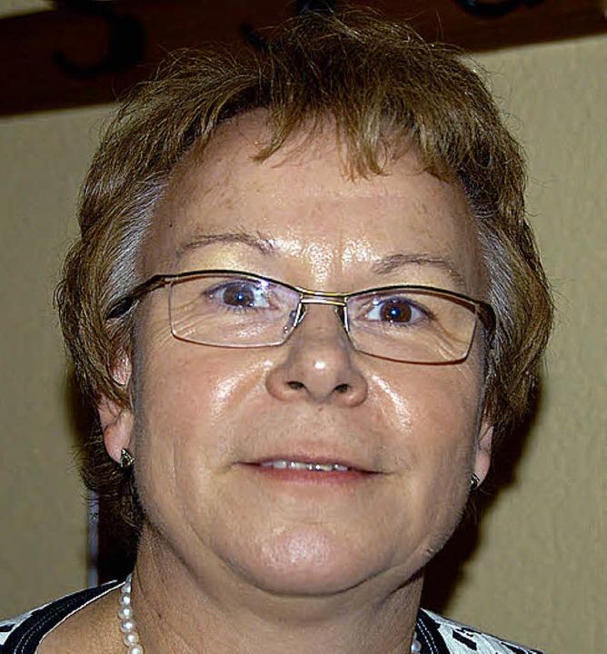 Bürgermeisterin und Heimatvereins-Vorsitzende Hannelore Reinbold-Mench    Foto: Pia Grättinger