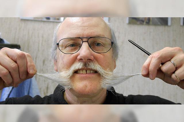 Stolzer Bartträger aus Überzeugung