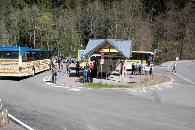 Wanderbusse können jetzt wenden