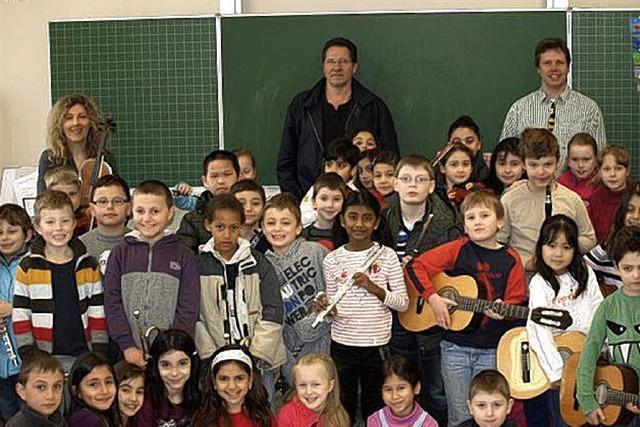 Musikinstrumente für alle Kinder