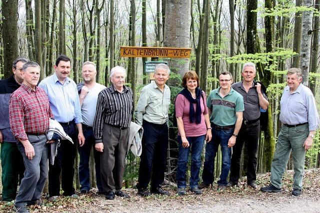 14 Waldbesitzer machen den Weg frei