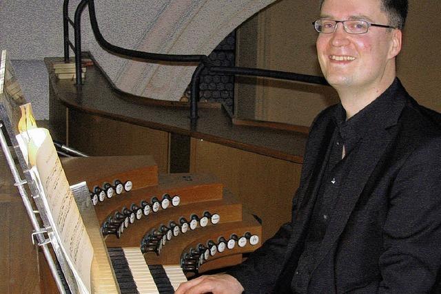 Ein Wagnis auf der Orgel