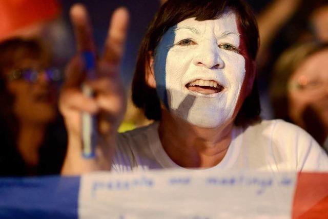 Stichwahl in Frankreich: Endspurt mit harten Bandagen