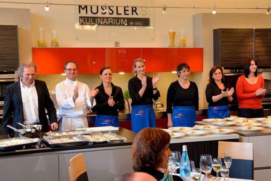 Das Badenova-Energiebuffet  – da Team (Foto: Christian Kramberg)