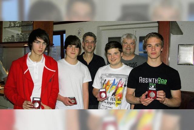 Tischtennisjugend sorgt mächtig für Furore