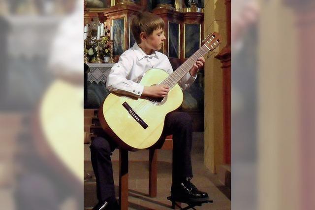 Jungmusiker präsentieren sich in der Heimat