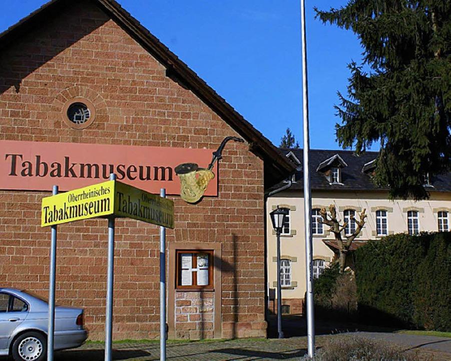 In Mahlberg eine Institution: das Tabakmuseum.  | Foto: Ulrike Hiller