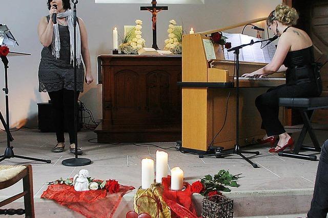 Mit Liebesliedern zur neuen Orgel