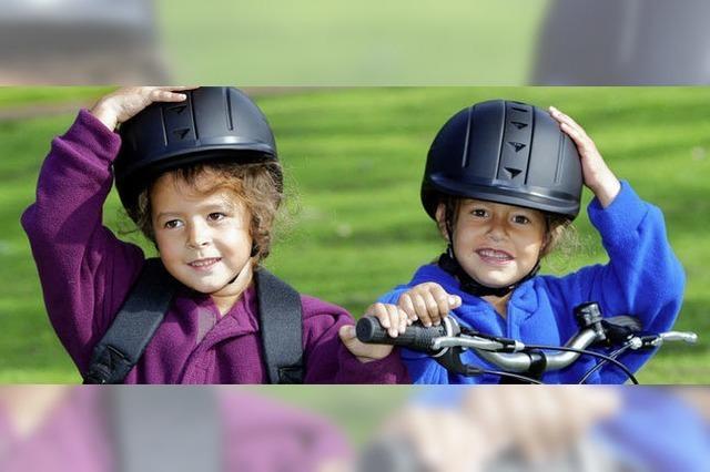 Helm auf – cool drauf