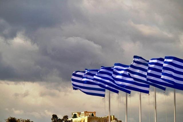 Athen vor der Wahl: Dunkle Wolken über der Akropolis