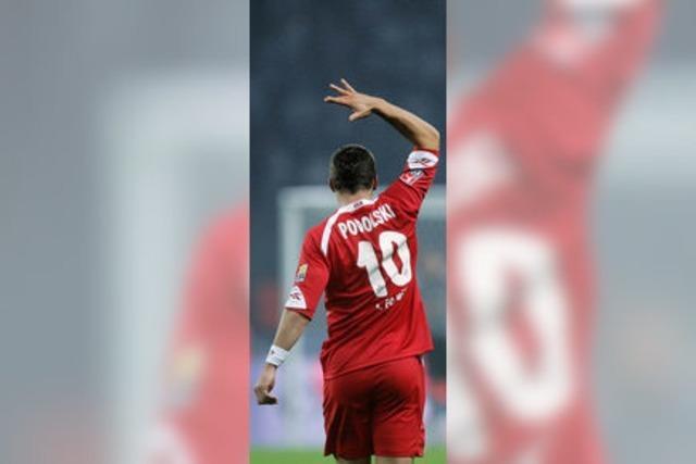 Podolski sagt Adieu