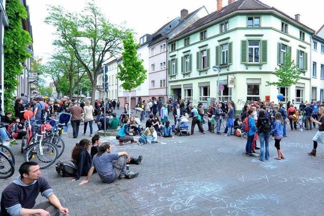 Wilhelmstraße: Ein Viertel trotzt dem Fest-Verbot