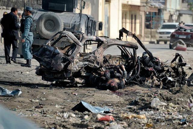 Tote bei Anschlag in Kabul kurz nach Obama-Besuch