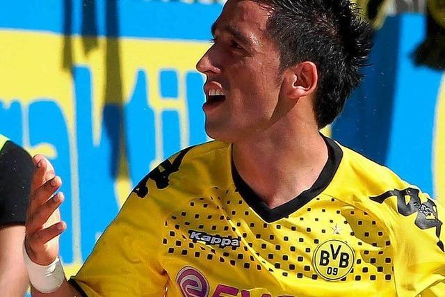 Lucas Barrios verlässt Dortmund und geht nach China