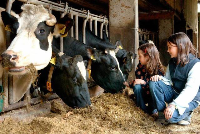 Kinderleben auf dem Bauernhof - früher und heute