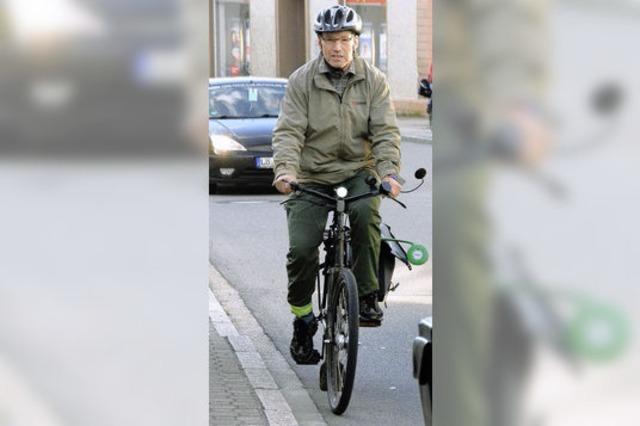 Wie Radfahrer den Verkehr sehen